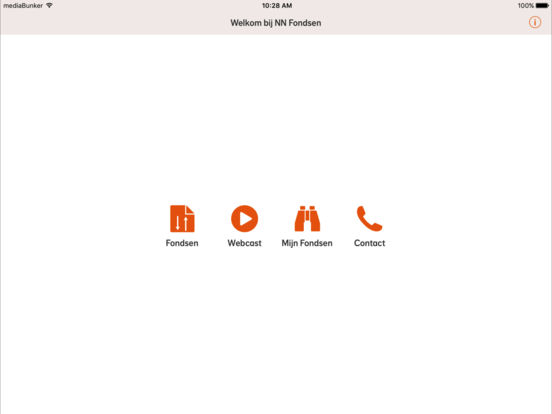 ING fondsen iPad Screenshot 1