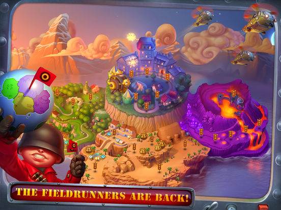 Fieldrunners 2 for iPad Screenshots