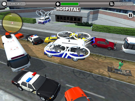 Flying Drone Ambulance screenshot 7