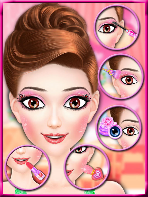 Screenshot #3 for Valentine Beauty Salon - Date Party Makeover Game