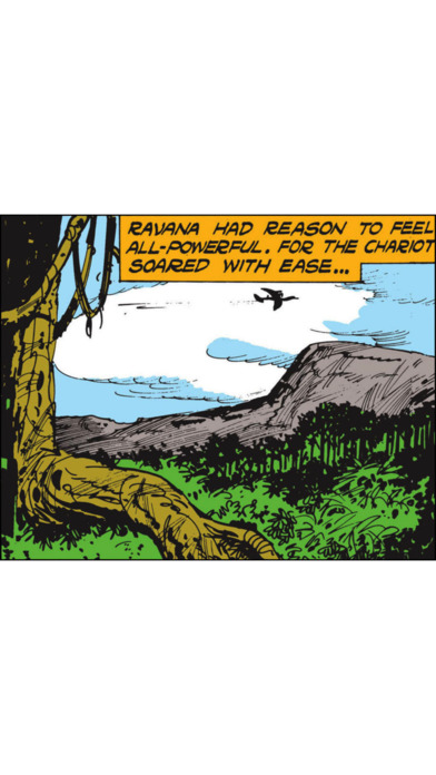 Ravana Humbled (The Arrogant King and Rama's arch rival) - Amar Chitra Katha Comics iPhone Screenshot 4