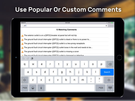 Tap Inspect iPad Screenshot 4