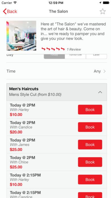 Slick - Hair & Beauty Bookings screenshot 3