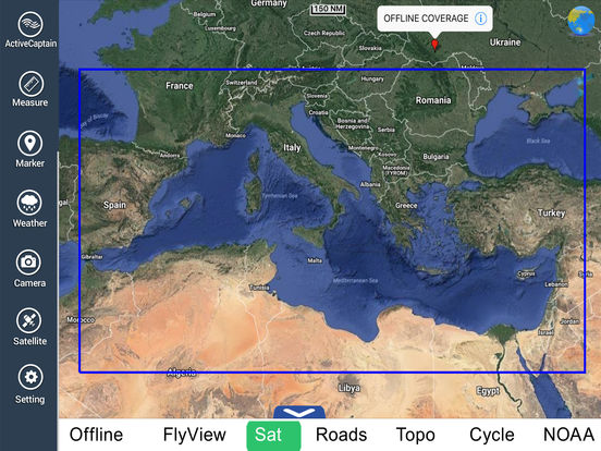 Bocche di Bonifacio HD - Travel Map Navigator iPad Screenshot 5