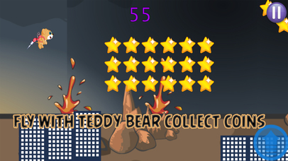Flying Teddy Bear Game screenshot 2