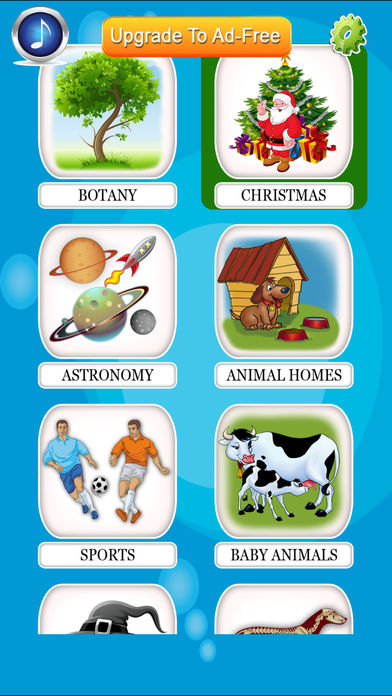 Baby Flash Cards 2 + eFlash English Memory Game for Toddler & Preschool Kids iPhone Screenshot 4