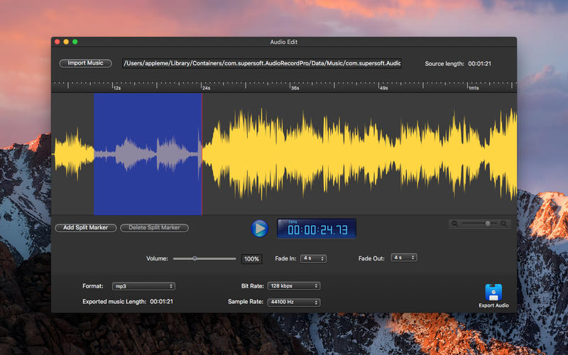 Audio Record Pro - Best Music Recorder Screenshots