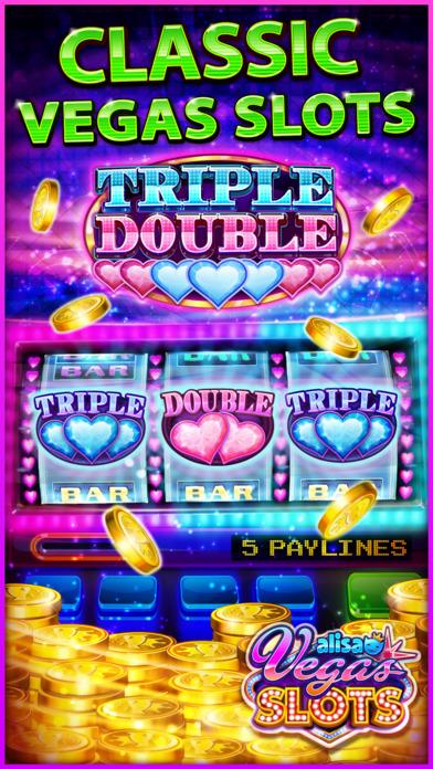 Screenshot 1 VEGAS SLOTS by Alisa – Fun Vegas Free Casino Games