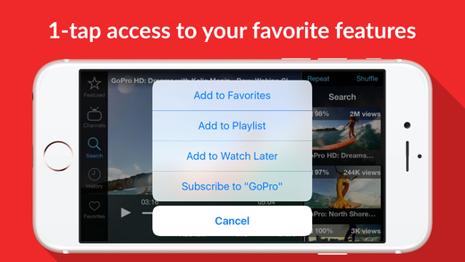 Tube : download the life saver for YouTube videos Screenshots