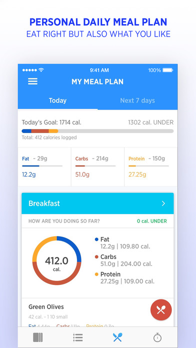 FitWell - Personal Fitness & Nutrition Coach screenshot