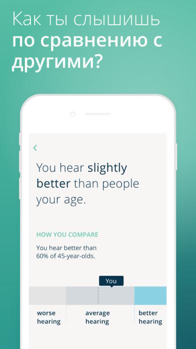 Слуховой тест Mimi — проверьте свои уши Screenshot