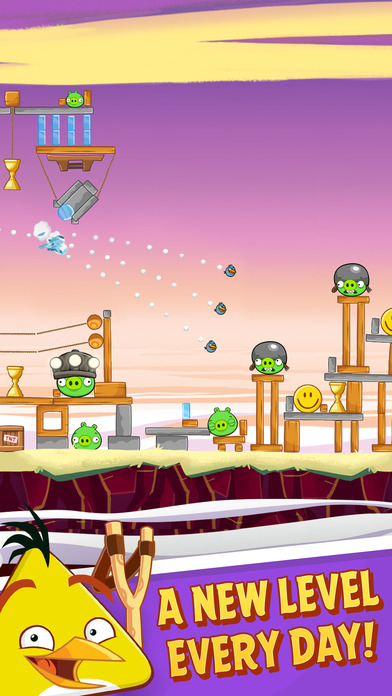 Screenshots of Angry Birds for iPhone