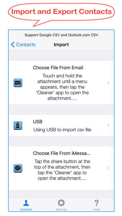 Cleaner - Smart delete merge duplicate contacts Screenshots