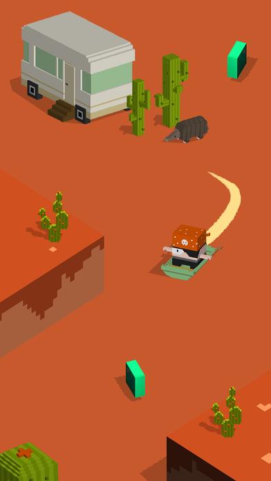 Silly Slide -- Retro 3D Arcade Screenshot