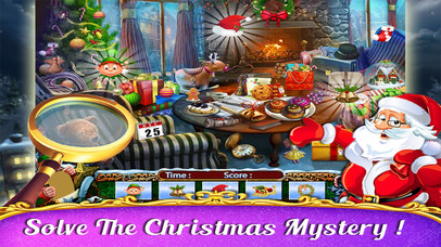 Snowy Christmas Wish - Hidden Object screenshot 3
