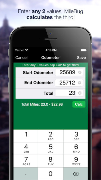 MileBug - Mileage Log & Expense Tracker iPhone Screenshot 4