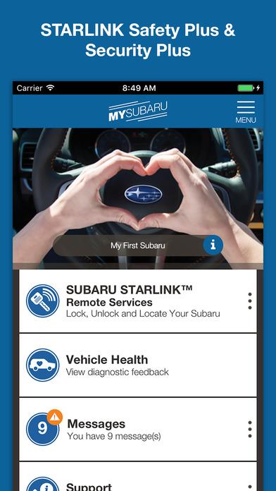 Subaru Starlink App >> App Shopper: MySubaru (Utilities)
