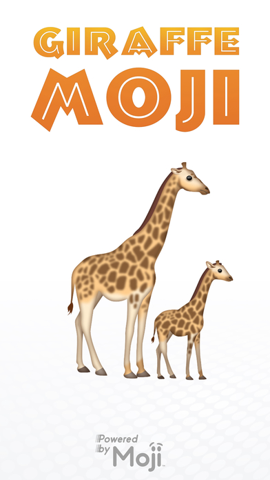 GiraffeMoji Apps for iPhone/iPad screenshot