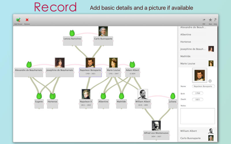 My Family Tree for Mac