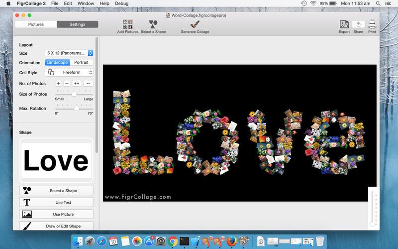 FigrCollage for Mac 2.5.6 破解版 – 照片拼贴工具-爱情守望者