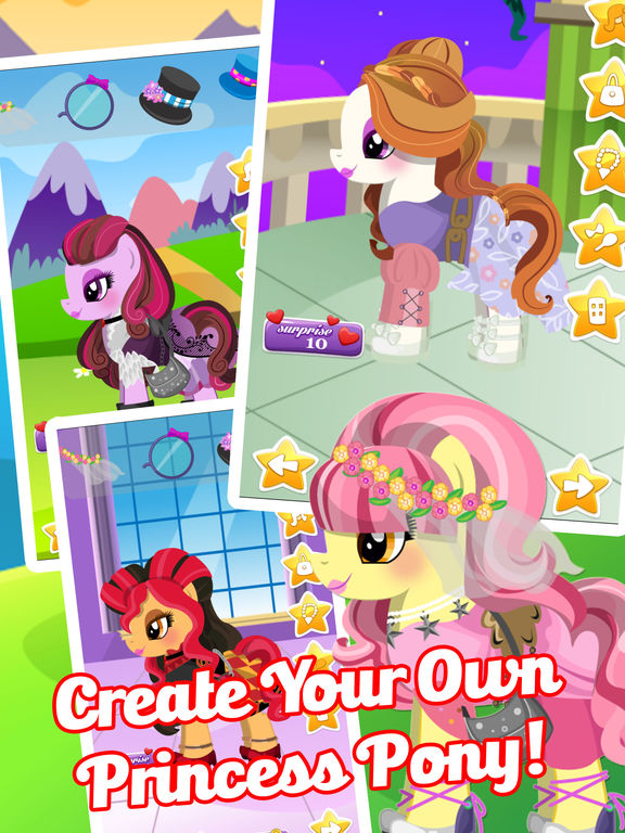 Fun Pony Baby Pet Dress Up Games For Girls & Kidsscreeshot 3