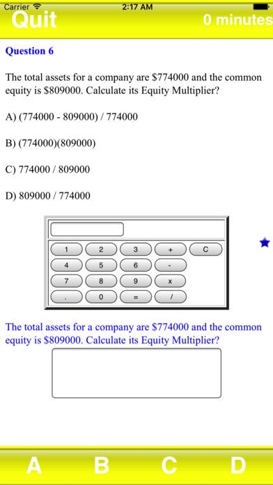 Test Review Finance Master iPhone Screenshot 4