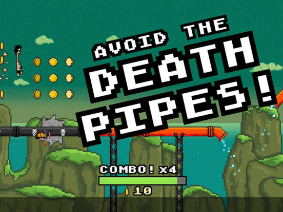 The Epic And Weird 8-Bit Waterslide For iOS Has First Free Sale