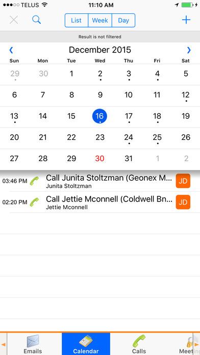 SalesNOW Mobile CRM iPhone Screenshot 4