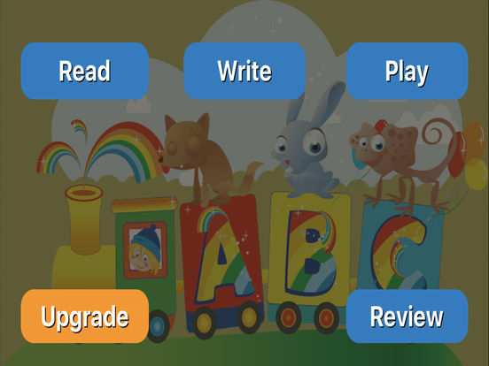 learning ABC for preschool and toddler iPad Screenshot 1