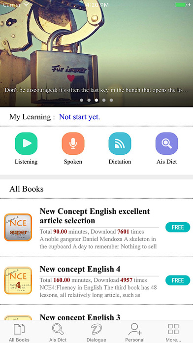 New concept English - Listening & Oral Training Screenshots
