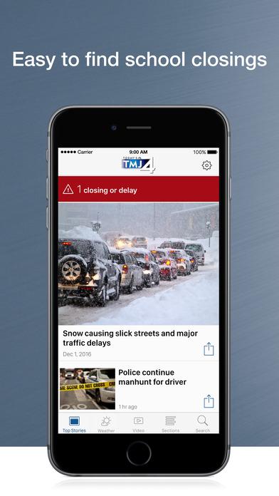 WTMJ-TV iPhone Screenshot 1