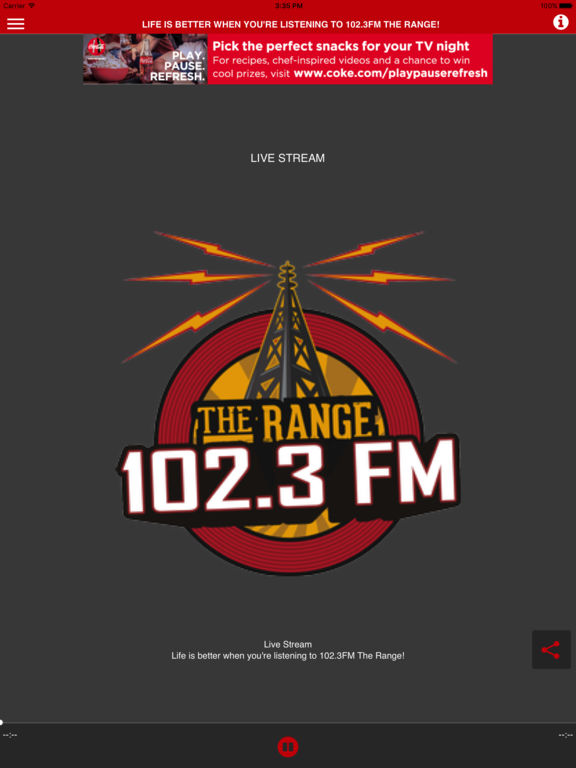 102.3 FM The Range By HiRange Media Inc.