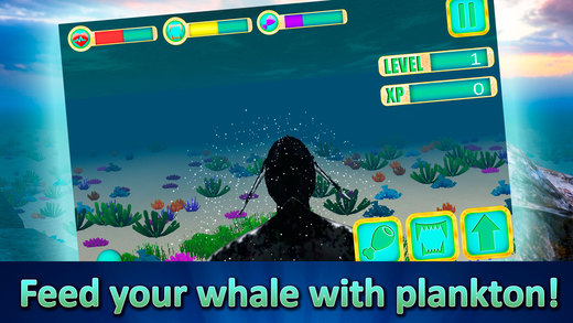 Ocean Whale Simulator 3D Screenshots