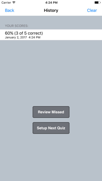 CRC Exam Lite (Free Questions) iPhone Screenshot 4