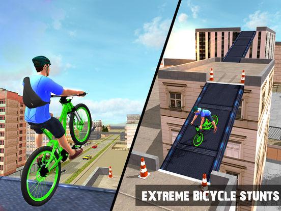 Rooftop Bicycle Stunts Simulator 2017 для iPad