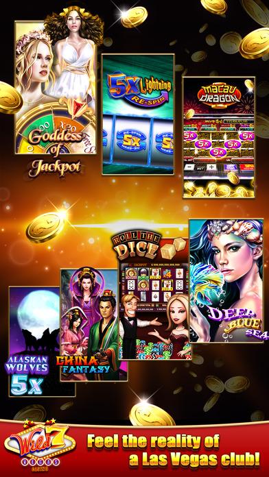 Screenshot 1 Wild7Vegas Casino — Lucky Slot machines
