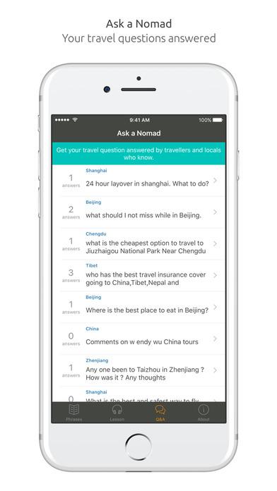 World Nomads Mandarin Language Guide iPhone Screenshot 5