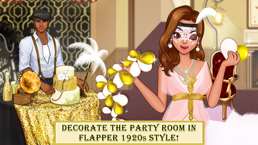 Face Paint Party 2 Girls Makeup Dress Up Games Screenshot