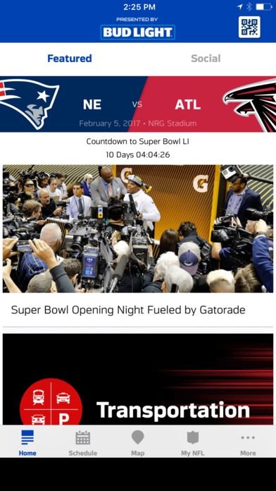 Super Bowl LI Houston – Fan Mobile Pass