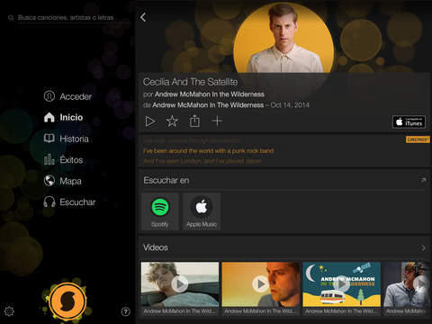 SoundHound∞ - Music Discovery screenshot 2