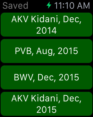 DVC Planner iPhone Screenshot 7