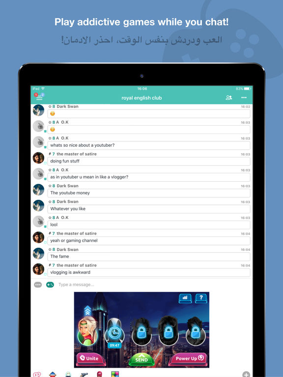 Palringo Group Messenger - Chat & Play! Screenshots
