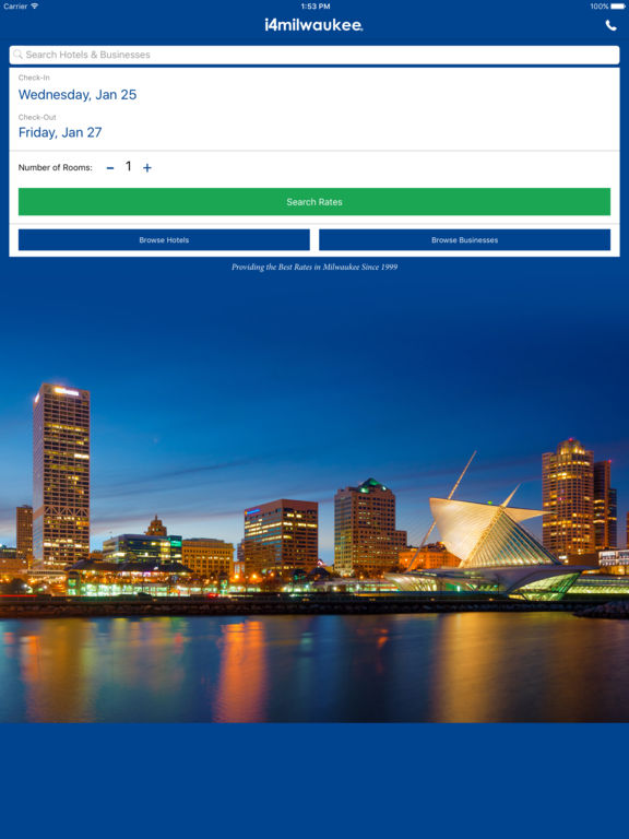 App Shopper I4milwaukee Milwaukee Hotels Yellow Pages Travel