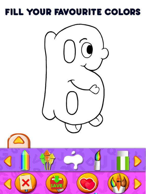App Shopper Alphabets Kids Coloring Book Pro Games
