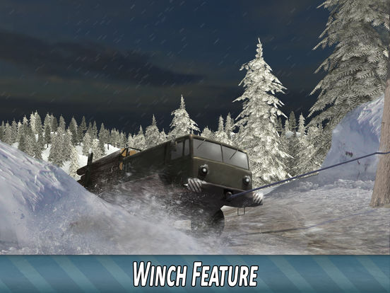 Winter Timber Truck Simulator Full screenshot 8