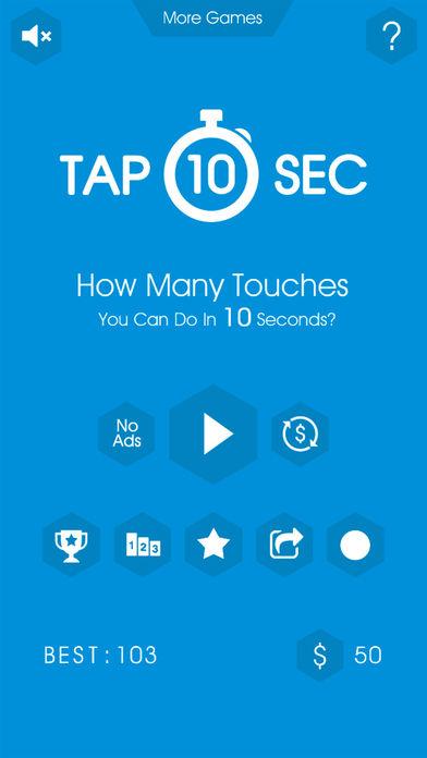 Tap 10 Sec Pro Screenshots