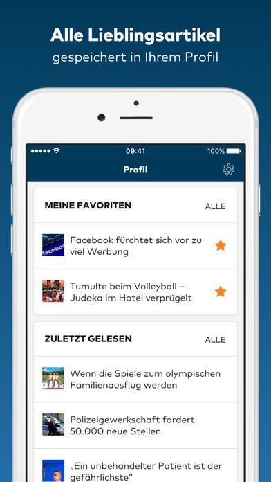 WELT News - Aktuelle Nachrichten iPhone Screenshot 3