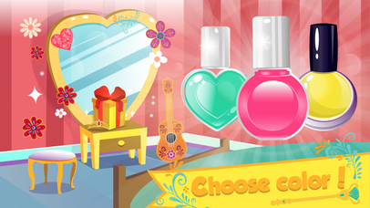 Magic nail Salon - Kids Hero screenshot 3