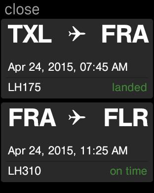Lufthansa iPhone Screenshot 10