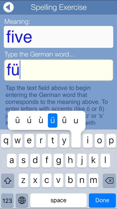 FREE German Audio FlashCards iPhone Screenshot 4